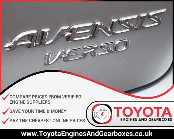 Buy Toyota Avensis Verso Diesel Engines