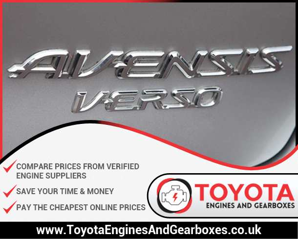 Buy Toyota Avensis Verso Engines