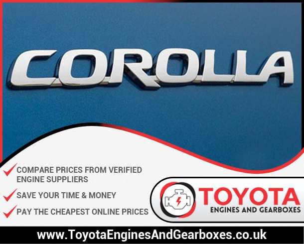 Buy Toyota Corolla Engines