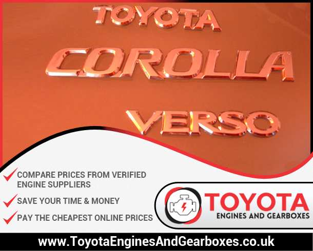 Buy Toyota Corolla Verso Engines